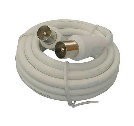4m Coaxial Fly Lead Plug to...