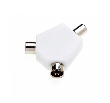 Coaxial Y Splitter Unswitched