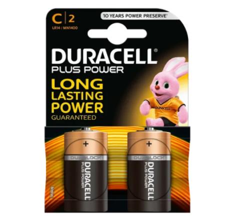 Duracell Plus Power C Size...