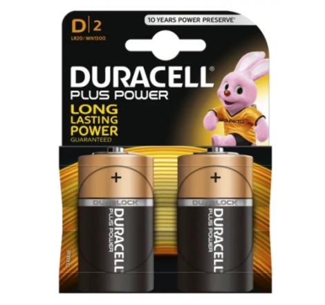 Duracell Plus Power D Size...