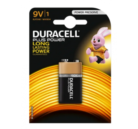 Duracell Plus Power 9V Size...