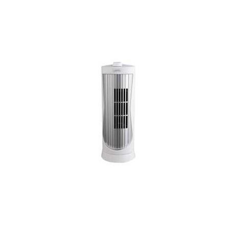 12 Inch Mini Tower Fan White
