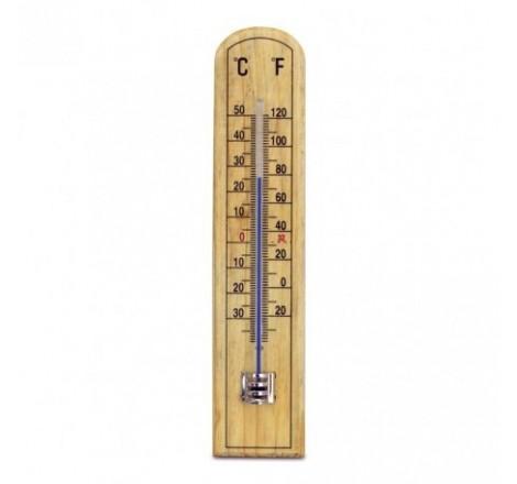 Beechwood thermometer - 45...