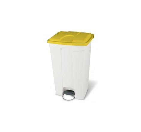 STEP-ON CONTAINER 90L WHITE...