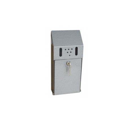 Wall mounted cigarette bin,...
