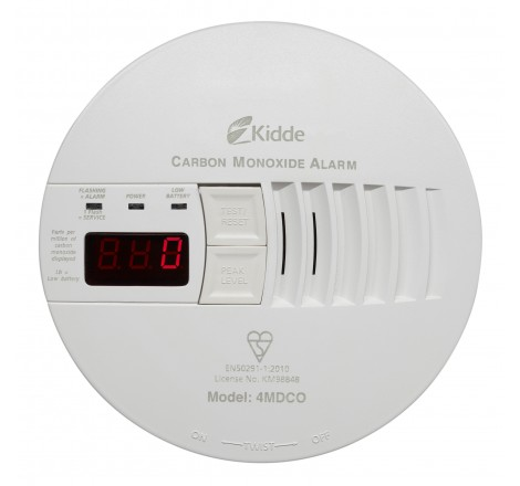 Kidde Mains CO Alarm 4MDCO