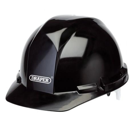 BLACK SAFETY HELMET TO EN397