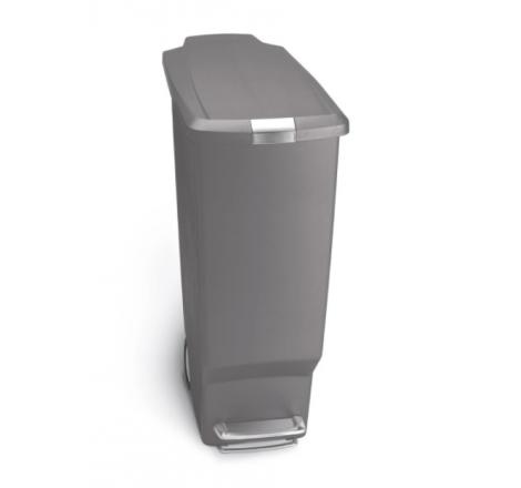 Slim pedal bin 40L