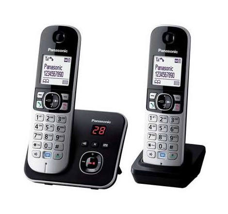 Twin Dect Telephone with...