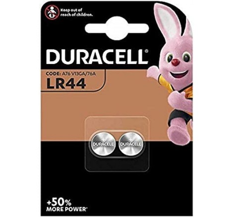 Duracell LR44 Battery - 2 Pack