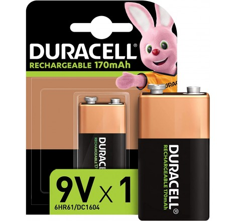 Duracell Rechargeable 9V...