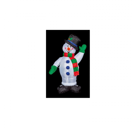 1.2M INFLATABLE SNOWMAN WITH