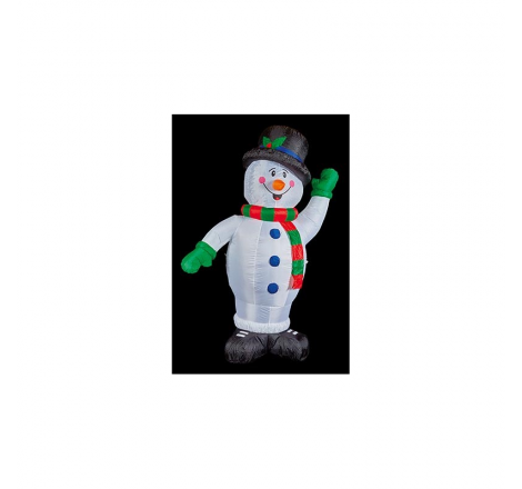 2.4M INFLATABLE SNOWMAN WITH