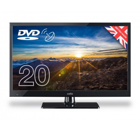 """Cello 20"""" HD LED TV with..."""