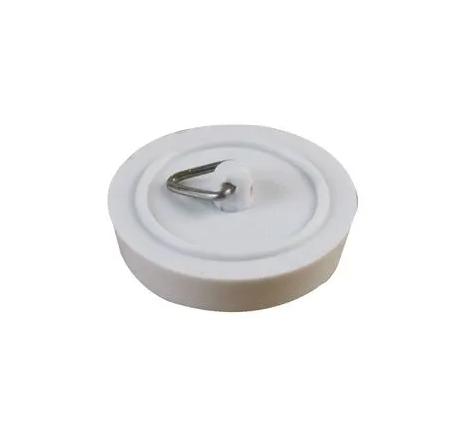 "1 1/2"" Basin Plug, White"