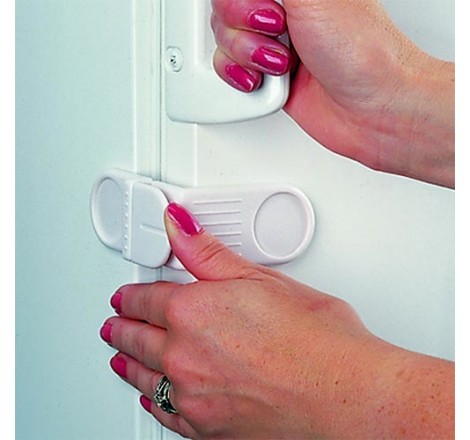 Single Fridge & Freezer Lock