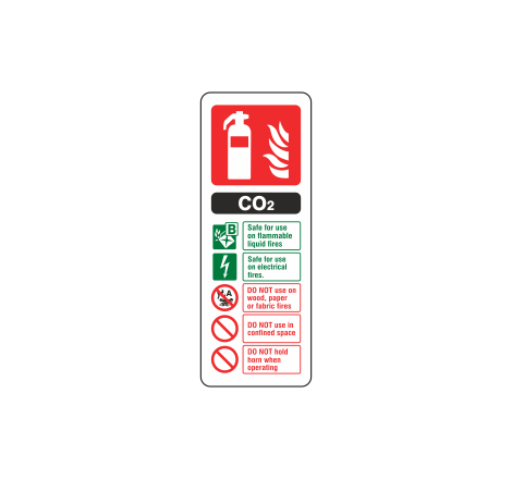 CO2 Fire Extinguisher ID...