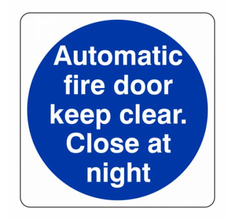 Automatic Fire Door Close...