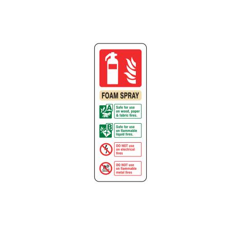 Foam Spray Extinguisher ID...