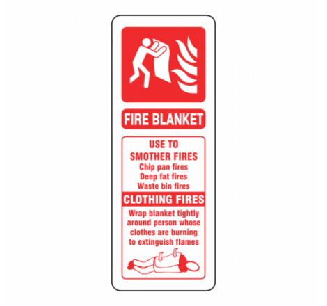 Fire Blanket ID Sign...