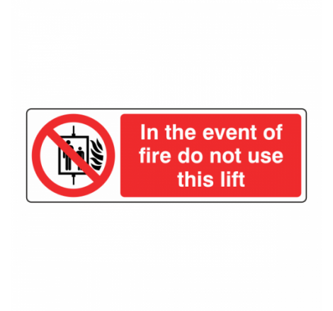 In The Event Of Fire Do Not...