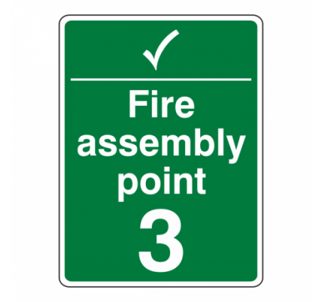 Fire Assembly Point With...