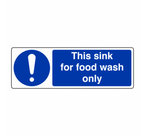 This Sink For Food Wash...