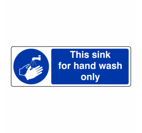 This Sink For Hand Wash...