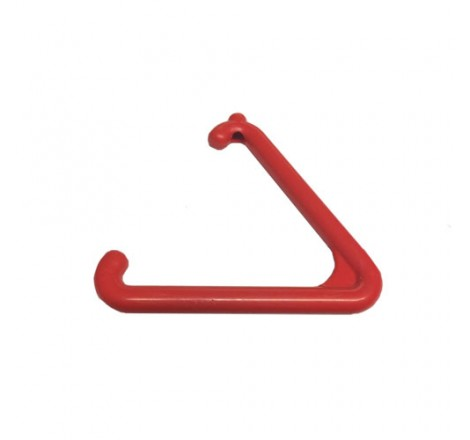 Pull Cord Triangle - Red
