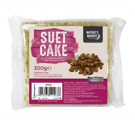 SUET CAKE WITH PEANUTS