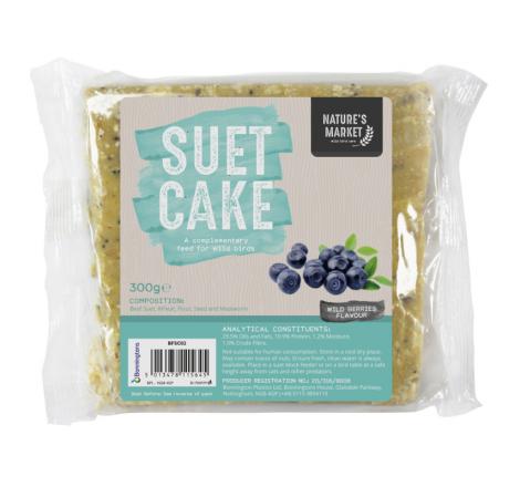 SUET CAKE WITH WILD BERRIES