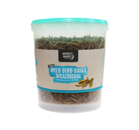 100G TUB DRIED MEALWORMS...