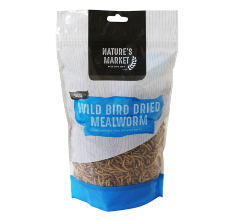 80G BAG DRIED MEALWORMS...