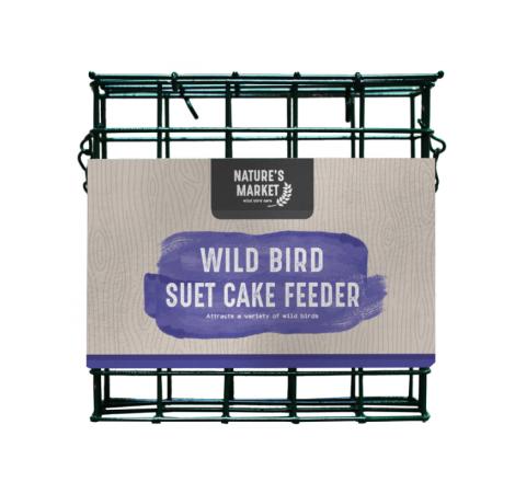 GREEN SUET CAKE BIRD FEEDER