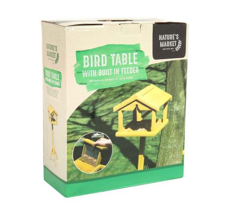 PREMIUM BIRD TABLE WITH...